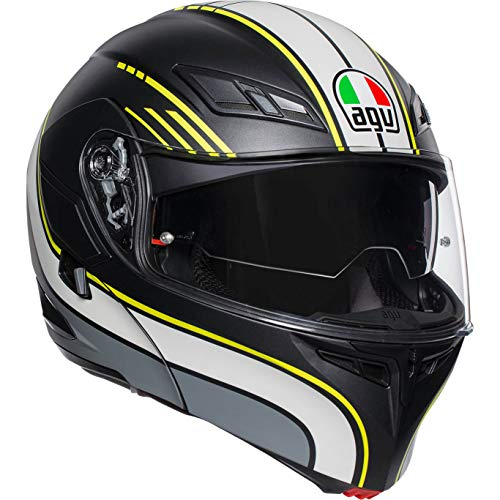 AGV Casco Modulare Compact ST Boston L Nero/Antracit