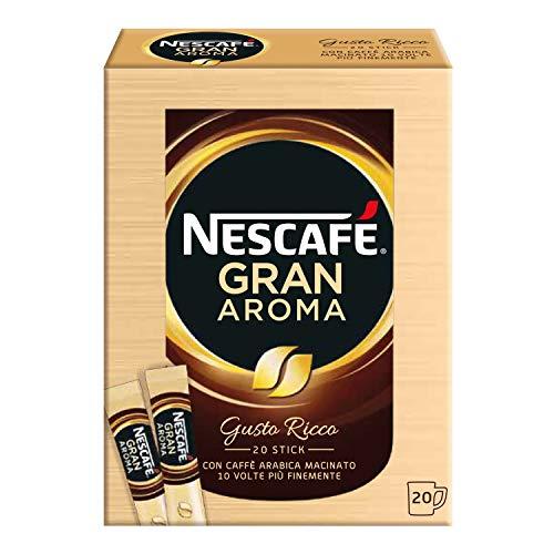 NESCAFÉ GRAN AROMA Caffè solubile 60 bustine (102g)