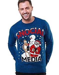 NOROZE suéter de Navidad para