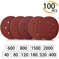 5 x Schleifpapier für Maus-Schleifmaschine Holz Metall 140 x 92 mm 60 Korn