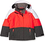Ziener Kinder Ablica Jun (Jacket Ski) Skijacke, Grey Pepita, 140