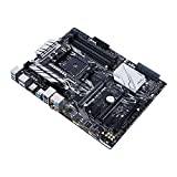 Asus PRIME X370-PRO Mainboard Socket AM4 (ATX, AMD X370, Ryzen, 4x DDR4 Memory, 8x SATA 6GB / s, M.2 Interface, Aura)