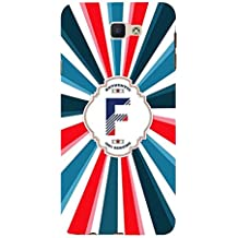 YuBingo Soft Silicone Designer Printed Mobile Back Case Cover for Samsung Galaxy J7 Prime (2016) | Fantastic Letter F (Colourful, Stylish and Cool) | UV Printed | Waterproof | Shockproof | Slim | Light