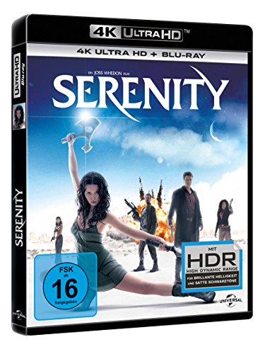Serenity: Flucht in neue Welten – Ultra HD Blu-ray [4k + Blu-ray Disc] - 2