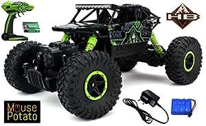 HB Mousepotato Rock Crawler Off Road Race Monster Truck, Green