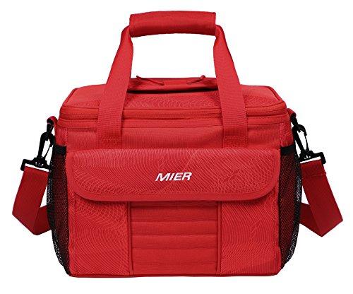 Mier grande soft cooler bag borsa porta pranzo termica da picnic con coperchio dosatore, tasche multiple. large sandali adventure seeker, punta chiusa - t - bambini