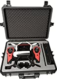 VALISE DE TRANSPORT POUR PARROT BEBOP 2 AVEC SKY CONTROLLER - FAITE PAR MC-CASES EXCELLENT CASES - THE ORIGINAL! (Bebop 2)