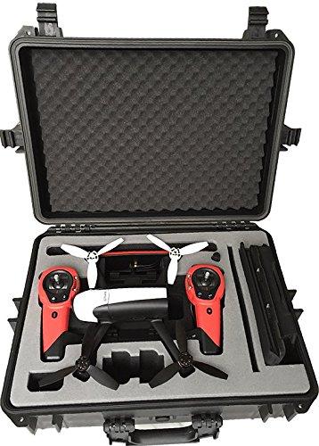 Koffer / Transportkoffer speziell für Parrot Bebop 2 mit Sky Controller und Propguards vorgefertigt von MC-CASES - Excellent Cases - DAS ORIGINAL (Bebop 2)
