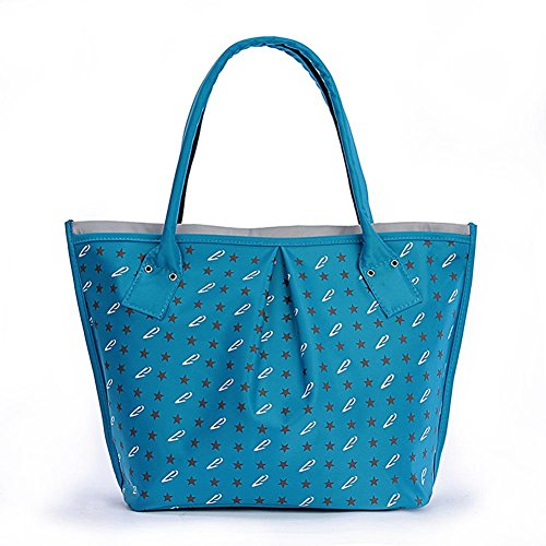 GBT Blaue Art- und Weisefrauen-Handtasche Brown