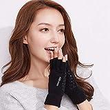 Petsdelite® Short Half Finger Fingerless Wool Knit Wrist Glove Winter Warm Workout For