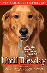Until Tuesday: A Wounded Warrior and the Golden Retriever Who Saved Him by Luis Carlos Montalv?, Bret Witter (2012) Paperback
