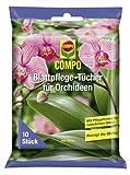 Compo 1086402004 Blattpflegetücher für Orchideen, 10 Stück