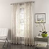 Best Home Fashion Valances - Lorraine Home Fashions 06863-63-00109 GRAY Bayside Tailored Window Review