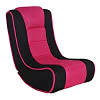 XSS Kids Lightweight Folding Gaming Chair Comfortable Padded Seat Headrest Portable For 3-5 Years