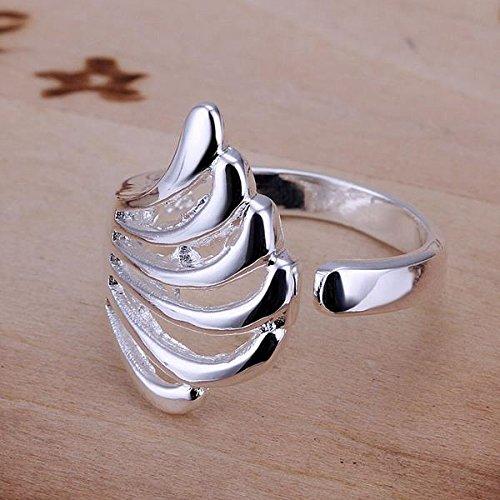 argent-pour-dame-conception-doigt-ring