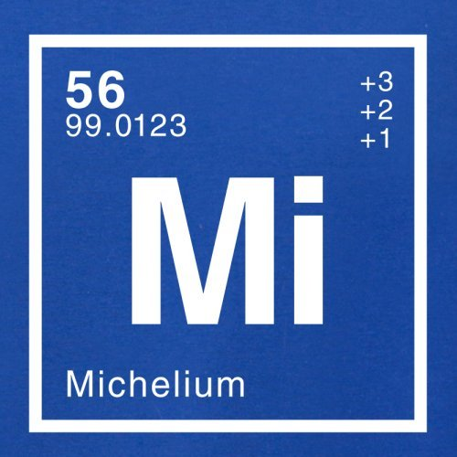 Michel Periodensystem - Herren T-Shirt - 13 Farben Royalblau