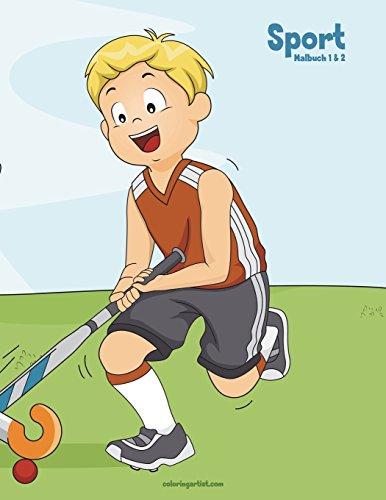 Sport-Malbuch 1 & 2