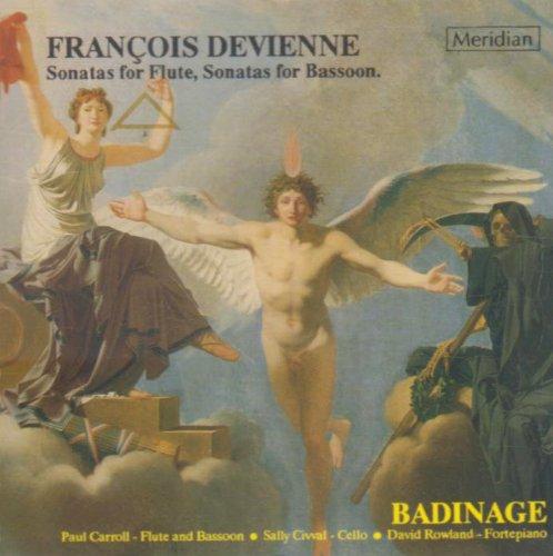 Francois Devienne Sonatas for Fl.,Sonatas for Bas.