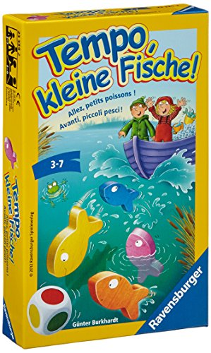 Preisvergleich Produktbild Ravensburger 23334 - Tempo, kleine Fische - Kinderspiel/ Reisespiel