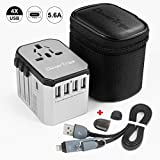 Best International Power Adapters - CleverTrips Universal Travel Power Adapter All in One Review