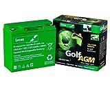 Best Golf Cart Batteries - LSLC22-12G - 22AH Lucas Deep Cycle AGM Golf Review