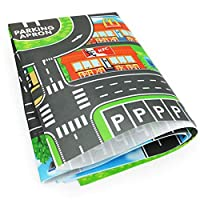 Ingeniously Kids Carpet Playmat Rug City Life Great for Playing with Cars and Toys - Play,Children Educational Road Traffic Play Mat
