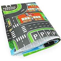 Ingeniously Alfombra para niños Alfombra para Juegos Alfombra City Life Ideal para Jugar con Autos y Juguetes - Juego, tapete Educativo para niños