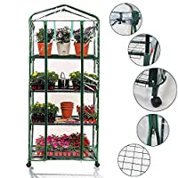 Worth Greenhouse Garden Warmhouse 3/4/5 Tier and Greenhouse Replacement 3/4/5 Tier Cover
