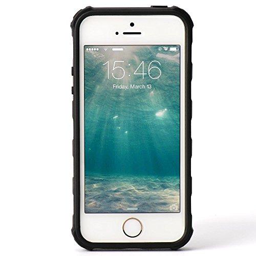 NEW HYBRID MOBILE CASE WITH CIGARETTE LIGHTER & BOTTLE OPENER FOR APPLE IPHONE 6/6S BLACK GREEN