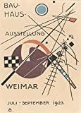 Vintage Bauhaus der Ausstellung 1923Weimar von Walter Gropius 250gsm, Hochglanz carda3vervielfältigtes Poster