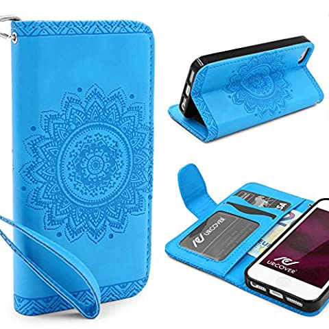 URCOVER® Mandala Pattern Case Wallet | Apple iPhone SE /