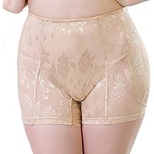 Aivtalk Mujer Bragas Braguitas Briefs sin Costuras con Relleno Embellecer Lateral Cadera Calzones Lucir Palmito Lencería