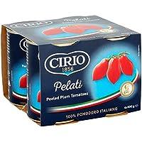 Cirio peladas Tomates de ciruelo 4 x 400g