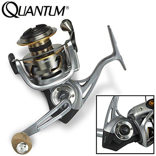 Quantum Vapor VP40XPT - Angelrolle zum Spinnangeln auf Hechte, Spinnrolle zum Hechtangeln, Hechtrolle zum Spinnfischen, Rolle
