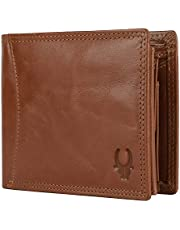 WildHorn® RFID Protected Genuine High Quality Leather Wallet for Men (TAN)