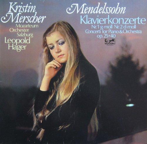 Mendelssohn: Klavierkonzerte Nr. 1 g-moll op. 25 & Nr. 2 d-moll op. 40 [Vinyl LP] [Schallplatte]