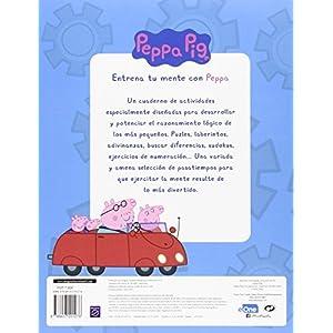 Entrena Tu Mente Con Peppa. 3 Años. Cuaderno De Actividades (PEPPA PIG)
