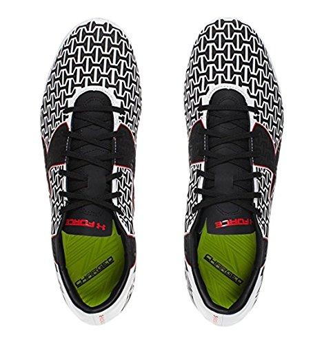Corespeed Force 2.0 FG - Chaussures de Foot - Blanc/Rouge/Noir white