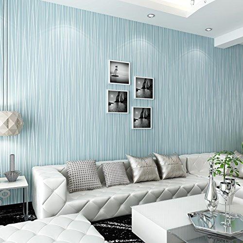 Zhzhco 3D Einfach Schlicht Nicht Selbst Kleber Vliestapeten Streifen Tapete Schlafzimmer Wohnzimmer Sofa Tv Hintergrundbild,F