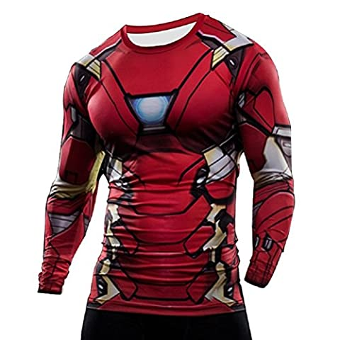 Samanthajane Clothing LTD Herren T-Shirt Gr. X-Large, New Ironman