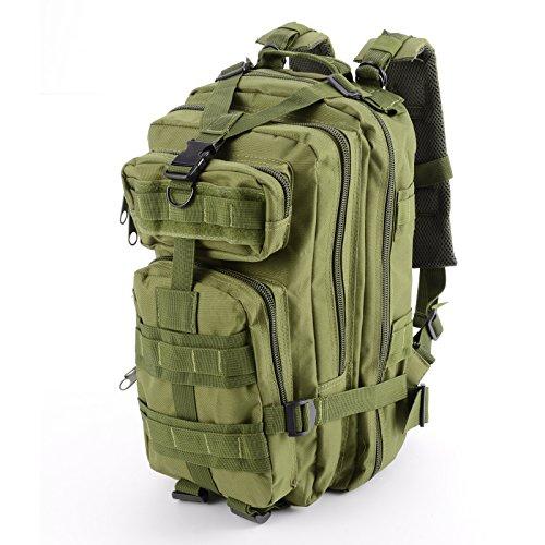 Imagen de cle de tous   bolsa militar táctico de hombre para acampada camping senderismo deporte verde