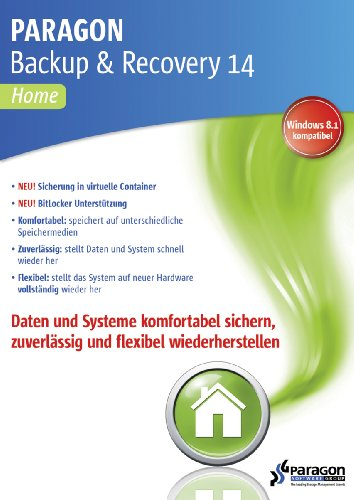 Paragon Backup & Recovery 14 Home [Download]