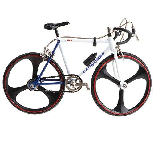 Homyl 1:10 Miniatur Diecast Fahrrad/Rennrad/Einrad/Bike Verkehrsmittel Modell für Tischdekoration, Sammlerstück, Geschenke - # 9