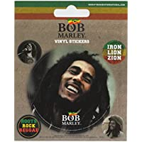 "Pyramid International"" Bob Marley Vinyl Stickers, Paper, Multi-Colour, 10 x 12.5 x 1.3 cm preiswert"