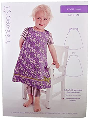 Schnittmuster Trägerrock für Babys & Kinder / Gr. 74-98cm / 2X0004