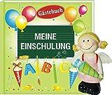 Album Meine Einschulung Gästebuch mit Spardose Einschulung-Engel Mädchen pink Junge blau (Album Meine Einschulung 1263