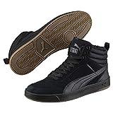 Puma Unisex-Erwachsene Rebound Street V2 SD FUR Hohe Sneaker, Schwarz Black-Iron Gate 01, 44 EU