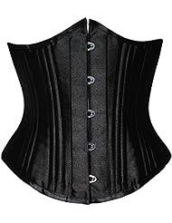 PULABO femme 26 stahlstäbchen corset à lacets de corset top shaper magicienne