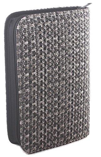 Friseursalon Werkzeugtasche, Friseur Stylist Scherenbeutel, PU Ledertasche – Farbe: Grau