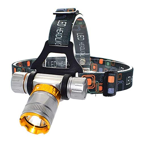 yywl LED kopflampe 4000 Lumen T6 LED Tauchen Scheinwerfer wasserdicht 5 Modi Tauchscheinwerfer Frontal Taschenlampe Unterwasser Jagd Kopf Fackel Lampe